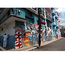 cuban street art Photographic Print