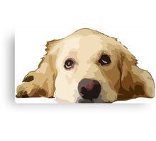 Chillin Pup  Canvas Print
