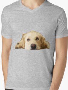 Chillin Pup  Mens V-Neck T-Shirt