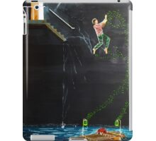 Jump into the river iPad Case/Skin
