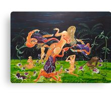 The Garden of Delights Canvas Print