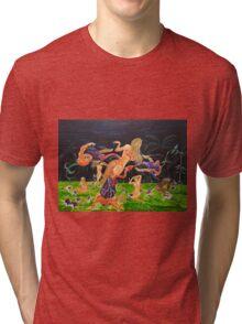 The Garden of Delights Tri-blend T-Shirt
