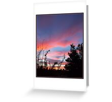 An Endless Sunset Greeting Card