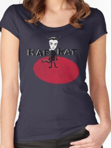 Kafka Cat Metamorphosis Women's Fitted Scoop T-Shirt
