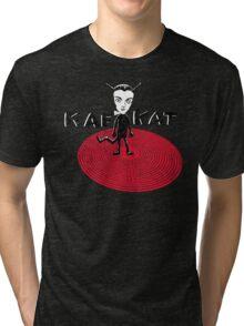 Kafka Cat Metamorphosis Tri-blend T-Shirt
