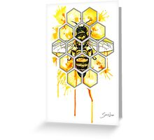 Hive Mentality Greeting Card