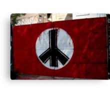 peace in east berlin Canvas Print
