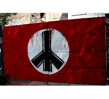 peace in east berlin Photographic Print