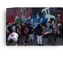 berlin wall art Canvas Print