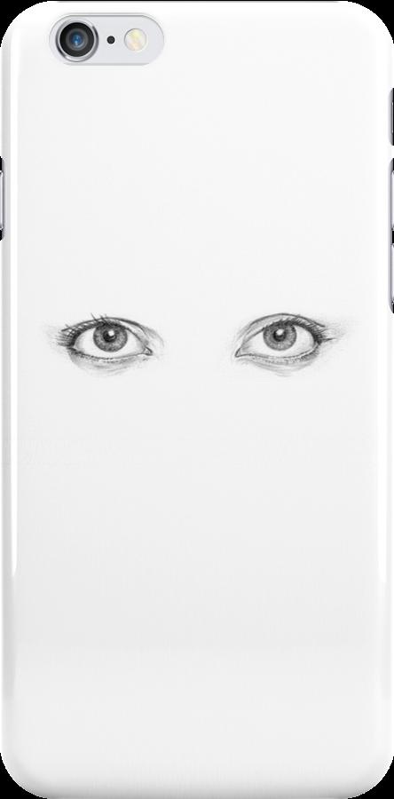 Ojos Iphone Case by HermesGC