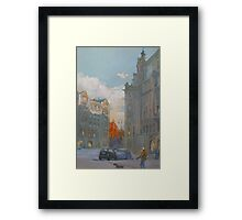 St. Petersburg, Russia, Austria Square  Framed Print