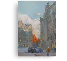 St. Petersburg, Russia, Austria Square  Canvas Print