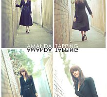 """""""Alley Cat"""" [Amanda Tapping - Actors Studio Very Limited Edition Series Print] by Filmart"""