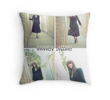 """Alley Cat"" [Amanda Tapping - Actors Studio Very Limited Edition Series Print] Throw Pillow"