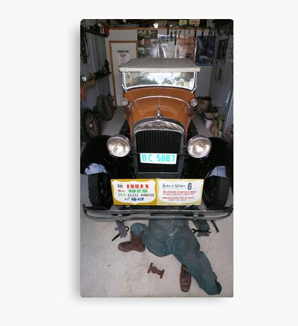 Vintage Car - Essex Super Six Canvas Print