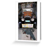 Vintage Car - Essex Super Six Greeting Card