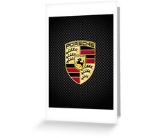 Stuttgart Carbon Fibre iPhone / Samsung Galaxy Case Greeting Card