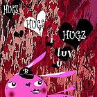 I LUV YOU by Barbara Cannon  ART.. AKA Barbieville