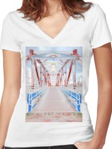 Inwards Women's Fitted V-Neck T-Shirt