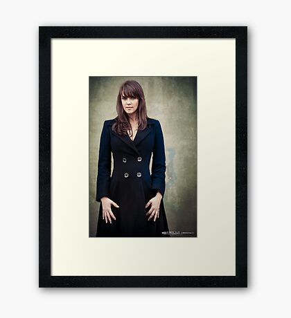 Amanda Tapping - Actors Studio Limited Edition Series Print [A14] Framed Print