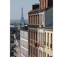 paris, je t'aime, je t'aime beaucoup Photographic Print