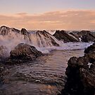 Wet Rocks, Burgess Beach by bazcelt