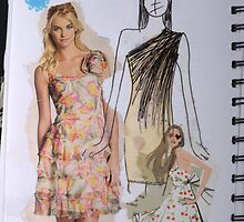 Girly dresses  by Becky Deary