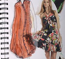 Girly dresses 2 by Becky Deary