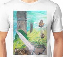 The feather and the Word Unisex T-Shirt