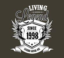 Living Legend Since 1998 Unisex T-Shirt