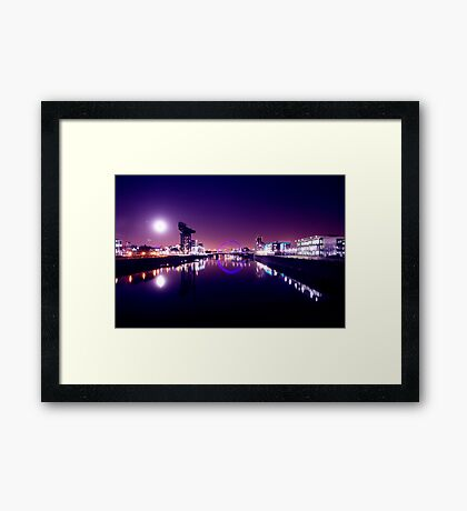 The Squinty Bridge Framed Print