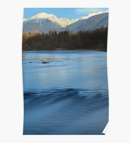 The mighty Sava river Poster