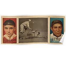 Benjamin K Edwards Collection Rich Marquard John T Meyers New York Giants baseball card portrait Poster