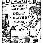 Beaver Sauce Card by Darian  Zam