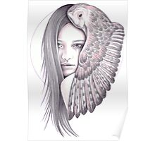 Alone With The Owl Poster