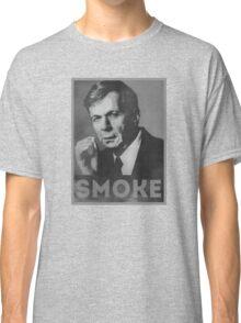 Smoke! Funny Obama Hope Parody (Smoking Man)  Classic T-Shirt