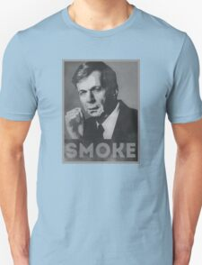 Smoke! Funny Obama Hope Parody (Smoking Man)  Unisex T-Shirt