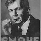 Smoke! Funny Obama Hope Parody (Smoking Man)  by badbugs