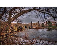 Chantry Bridge, Wakefield. Photographic Print