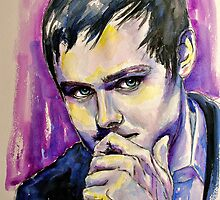 Tom Chaplin, featured in The Group, Art Universe by Françoise  Dugourd-Caput