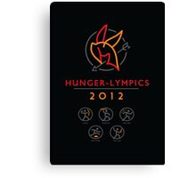 Hunger-lympics - POSTER Canvas Print