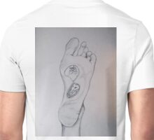 Labyrinth foot Unisex T-Shirt