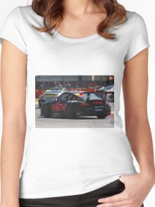 2013 Clipsal 500 Day 2 Carrera Cup Women's Fitted Scoop T-Shirt
