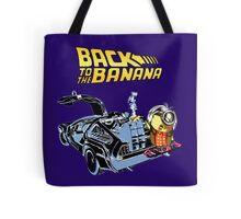 Back To The Banana Future Tote Bag