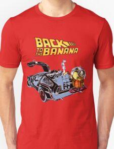Back To The Banana Future Unisex T-Shirt