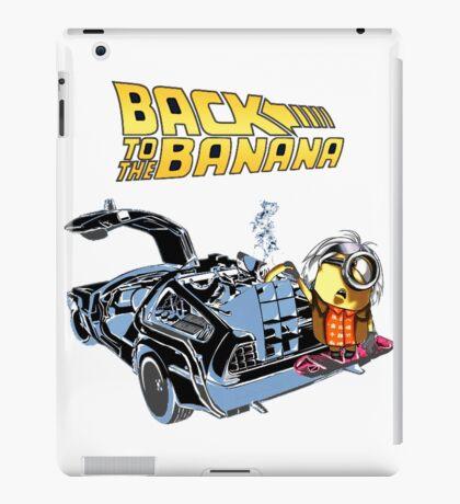 Back To The Banana Future iPad Case/Skin