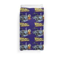 Back To The Banana Future Duvet Cover