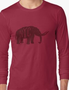 Mastodon NYC Long Sleeve T-Shirt