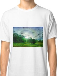 Heavenly landscape Classic T-Shirt