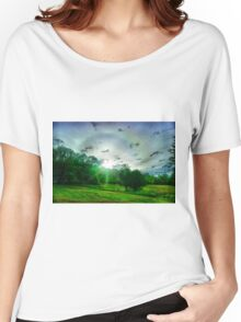 Heavenly landscape Women's Relaxed Fit T-Shirt